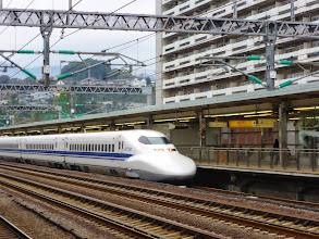Photo: Fastest train (Bullet train to Nagoya)