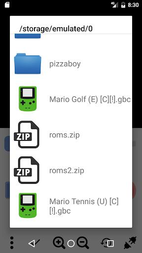 Pizza Boy - Game Boy Color Emulator Free 1.16.13 screenshots 7