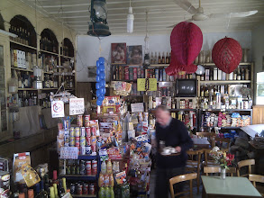 Photo: the shop and shopkeeper