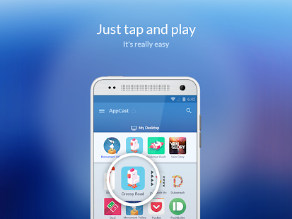 AppCast for BlueStacks- screenshot thumbnail