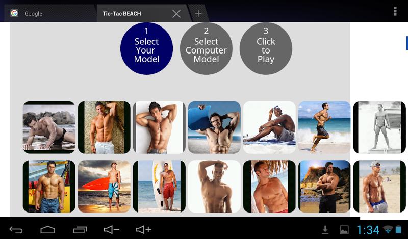 Скриншот Tic-Tac BEACH