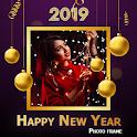 Happy New Year Photo Frame 2020 icon