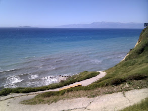 Photo: The way to Logas beach