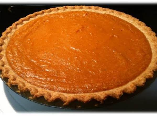 Maple Sweet Potato Pie Recipe
