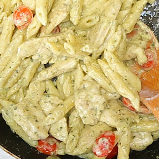 Cooking Chicken Pesto Penne Recipes