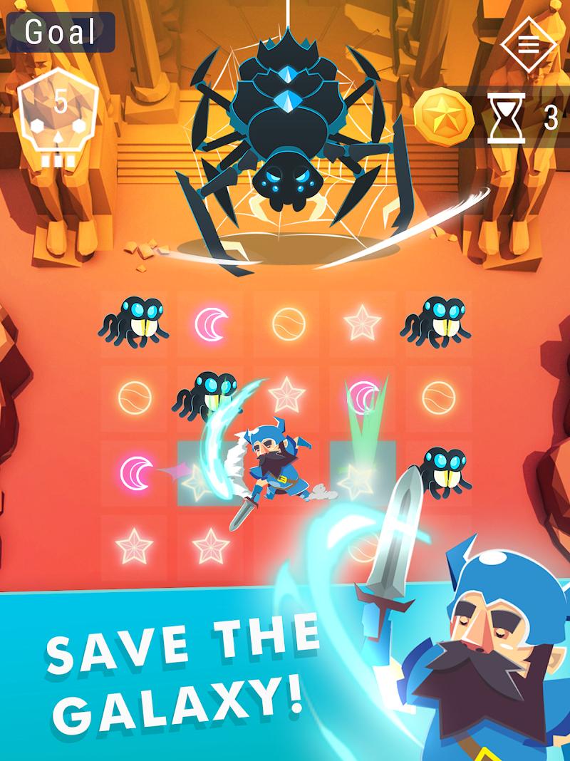 Starbeard - Intergalactic Roguelike puzzle game Screenshot 7