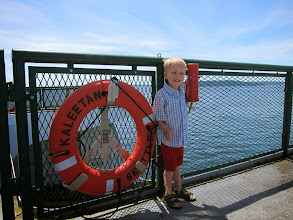 Photo: We took a ferry from Seattle to Bremerton then drove up to Port Angeles (after swapping our POS Toyota Yaris for a Dodge Grand Caravan).