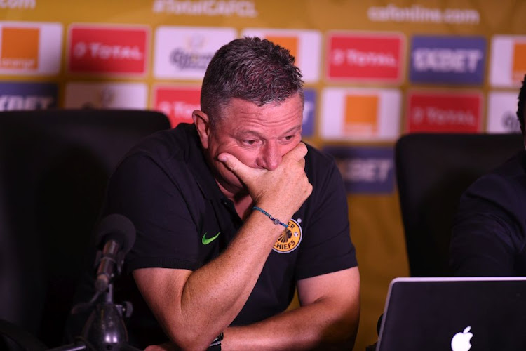 Kaizer Chiefs coach Gavin Hunt stunned by the behaviour of the Wydad Casablanca players and the poor amateur theatrics they displayed against his club