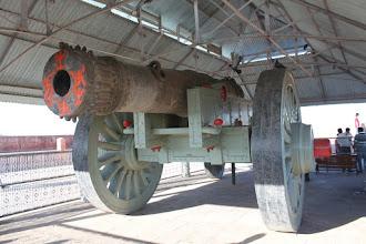 Photo: Largest mobile cannon