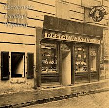 Photo: Ресторанчик в підвалі будинку на розі нинішніх вулиці Руської та Центральної площі. Фото 1920-1930-х років.