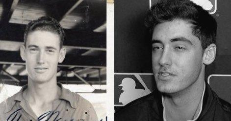Image result for ted williams cody bellinger