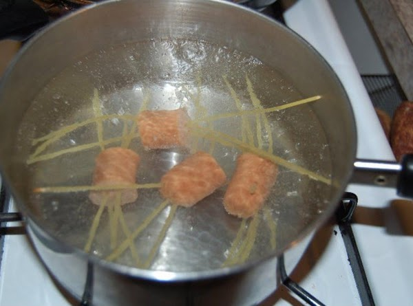 put them in boiling water for 10 minutes