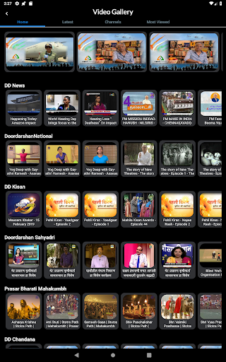 NewsOnAir: Prasar Bharati Official App News+Live 30 Screenshots 19