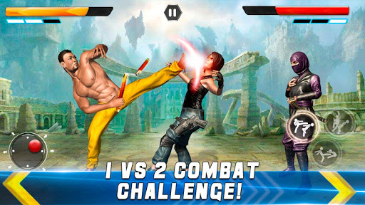 Real Superhero Kung Fu Fight Champion apkslow screenshots 10