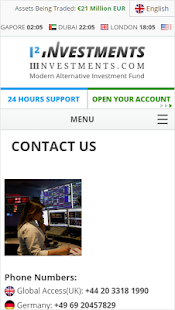 IIInvestments - I² Investments- screenshot thumbnail