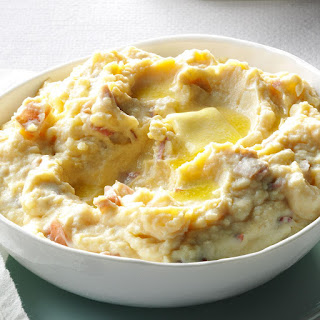 Rich & Creamy Parmesan Mashed Potatoes.