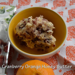Cranberry Orange Compound Butter