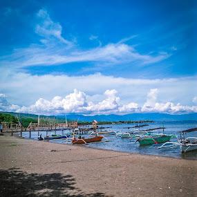 Lanskap by Eka Astiputra - Landscapes Beaches ( laut, blue, pantai, indonesia, lanscape,  )