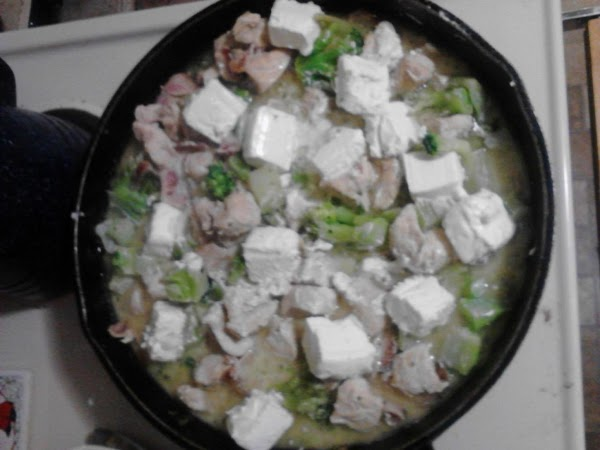 Remove lid, stirring everything together. Lower heat to low. Add cream cheese, cutting into...