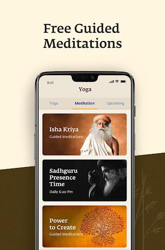 Sadhguru - Yoga, Meditation & Spirituality 5.0 screenshots 4