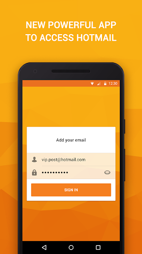 Email App for Hotmail