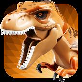 Dinosaur Toy in Bricks