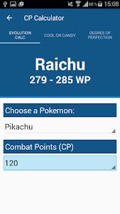 CP-Calculator Pro Pokemon Go v1.3