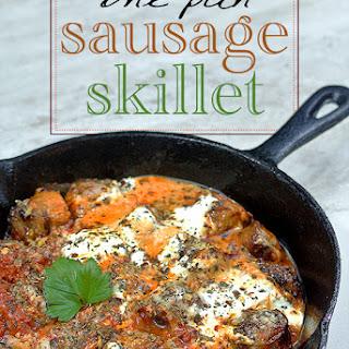 One Pan Sausage Skillet