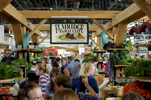 Halifax-market-crowd.jpg - Sample fresh produce and goods when you visit a farmer's market in Halifax, Nova Scotia.