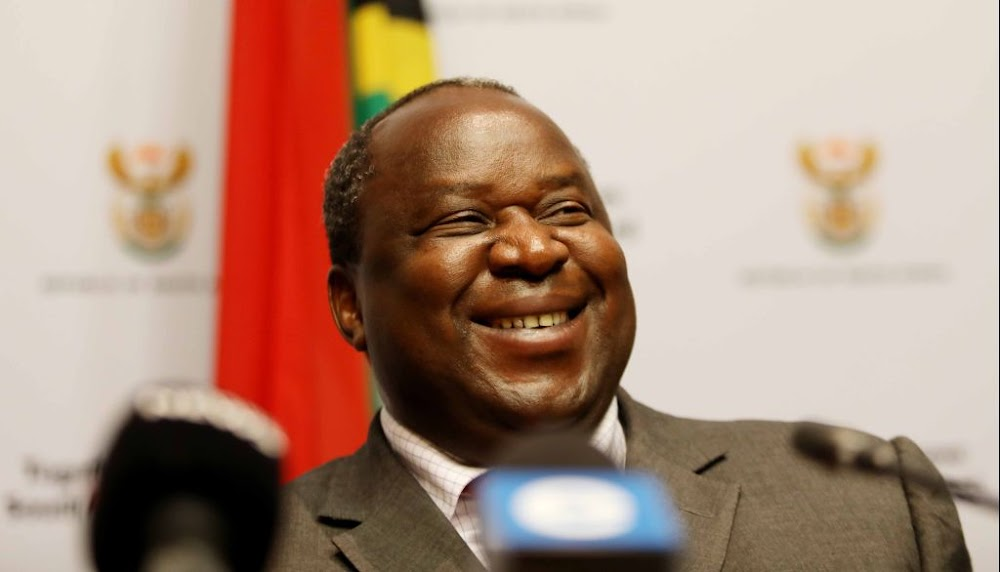 Tito Mboweni shades EFF, compares them to chickens - TimesLIVE
