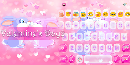 Valentine's Day Emoji Keyboard