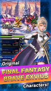 FINAL FANTASY BRAVE EXVIUS MOD Apk 1.3.0 (High Damage) 3