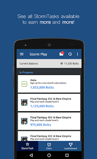 Storm Play - náhled