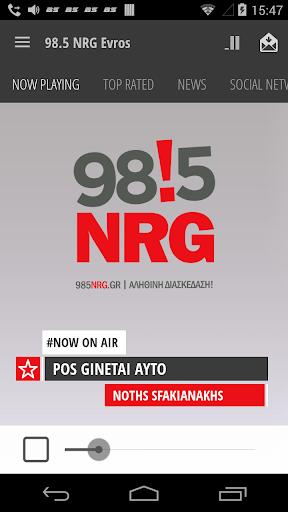 98.5 NRG Evros