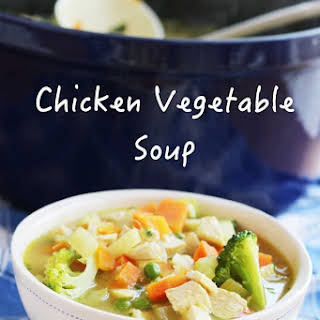 Low Carb Chicken Vegetable Soup.