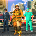 Emergency FireFighter Rescue Simulator - 911 Game icon