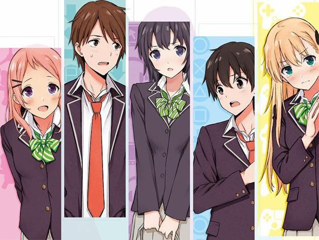 Cinco personajes, los menos inesperados son los inadaptados sociales. ¡Bien hecho, Japón!