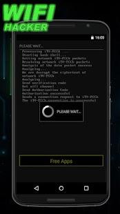 Wifi Hacker Prank - náhled
