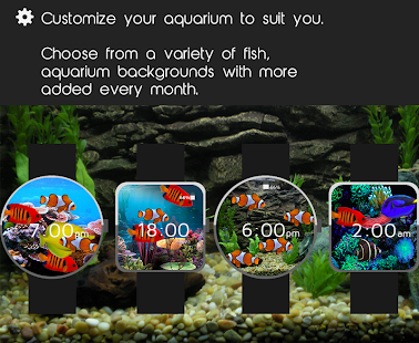 Aquarium Watch Face- screenshot thumbnail
