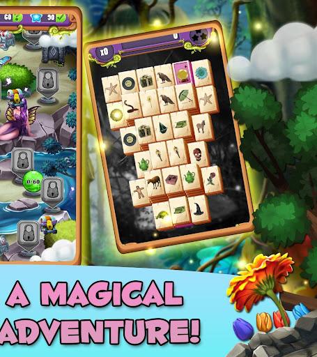 Mahjong Magic Lands: Fairy King's Quest apktram screenshots 16