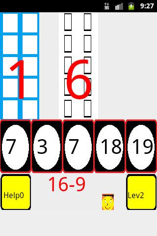 Understand subtraction math