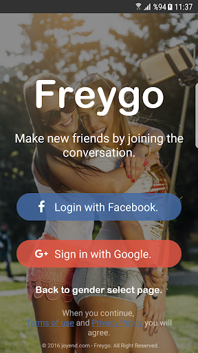 Freygo - video and audio chat 4.0 screenshots 4