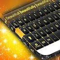 Желтый Клавиатура Стиль icon
