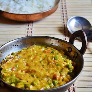 Restaurant style peas masala recipe   Peas masala recipe   Side dish for roti
