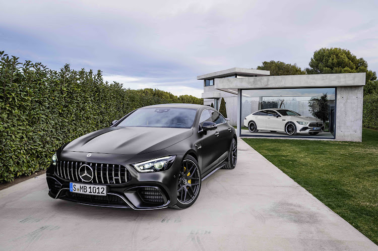 Mercedes revealed its AMG GT 4-door offering outputs up to 470kW