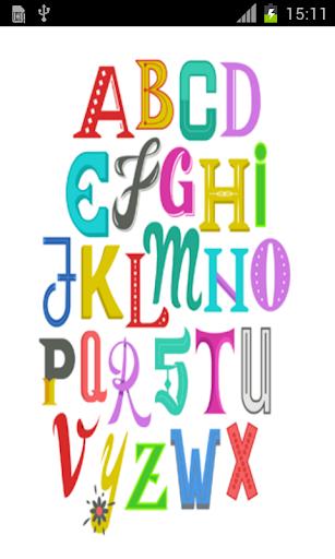 english alphabet for kids