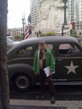 Photo: Clarence Wright - Gen Patton car