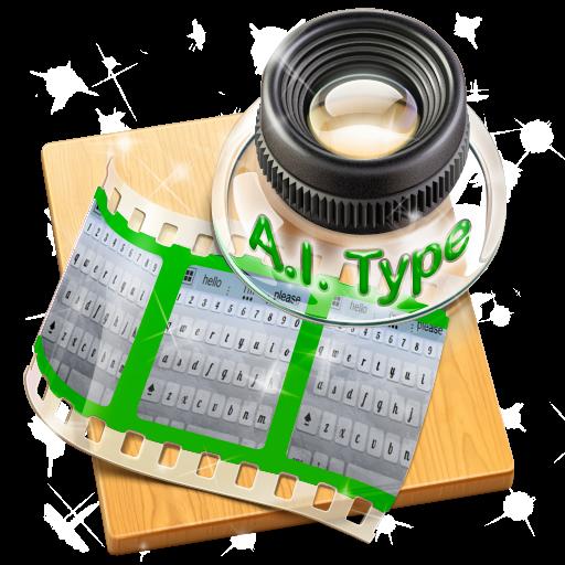 大理石の夜空 AiType テーマ 個人化 App LOGO-APP開箱王