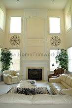 Photo: (After) Farooki's Family room: Mantle, over-Mantle with arched top Collegeville, P