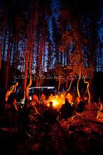 Photo: Camping on Grassy Island. Jackson Lake in Grand Teton National Park, WY.
